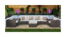 Load image into Gallery viewer, The Arches - 7pc Sunbrella® Outdoor Sofa Set - Cozy Corner Patios