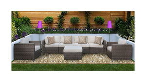 The Arches - 7pc Sunbrella® Outdoor Sofa Set - Cozy Corner Patios