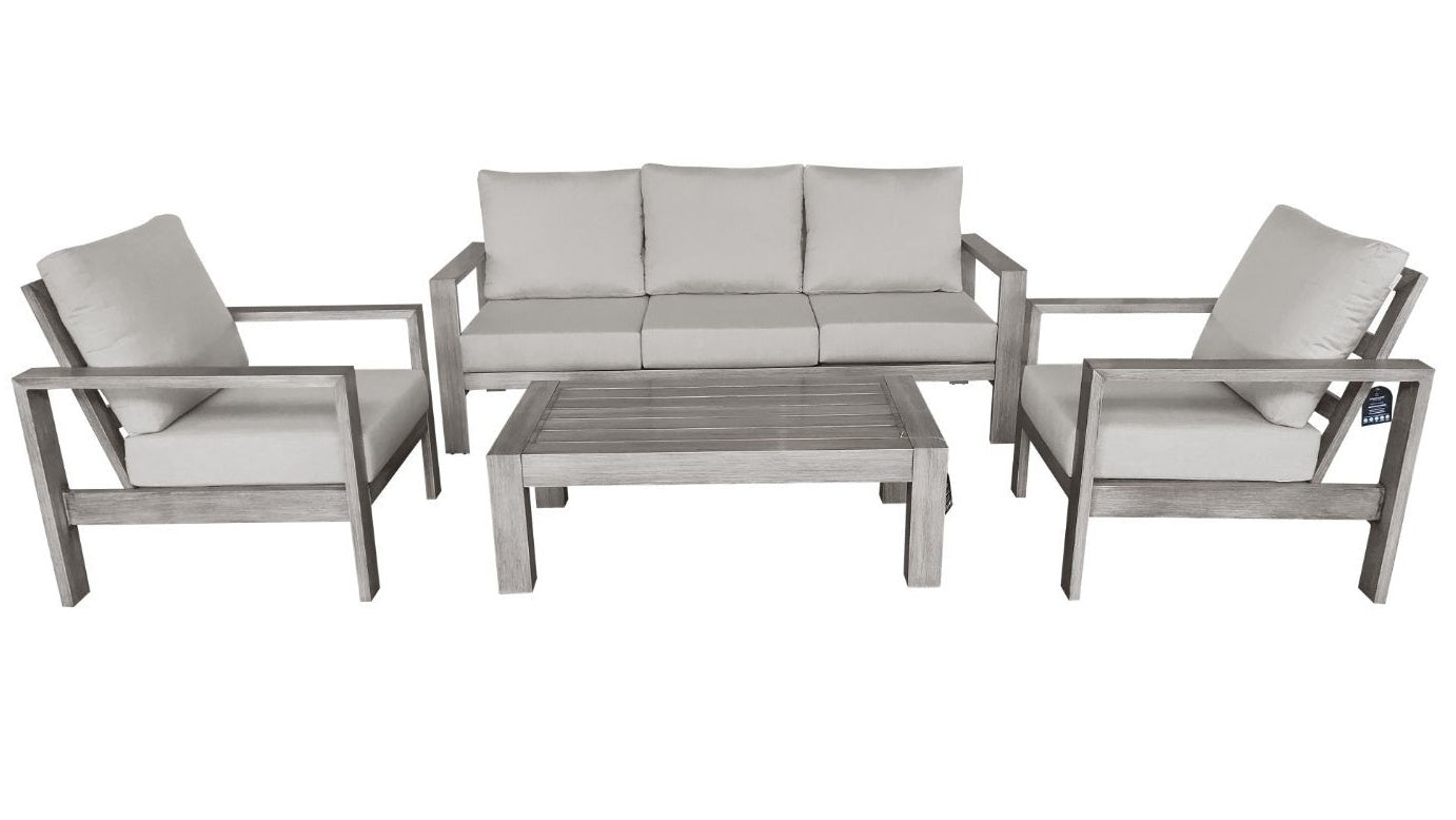 The Bryce Canyon - 5  Seater Sunbrella® Outdoor Sofa Set - (Eagle Series) - Cozy Corner Patios