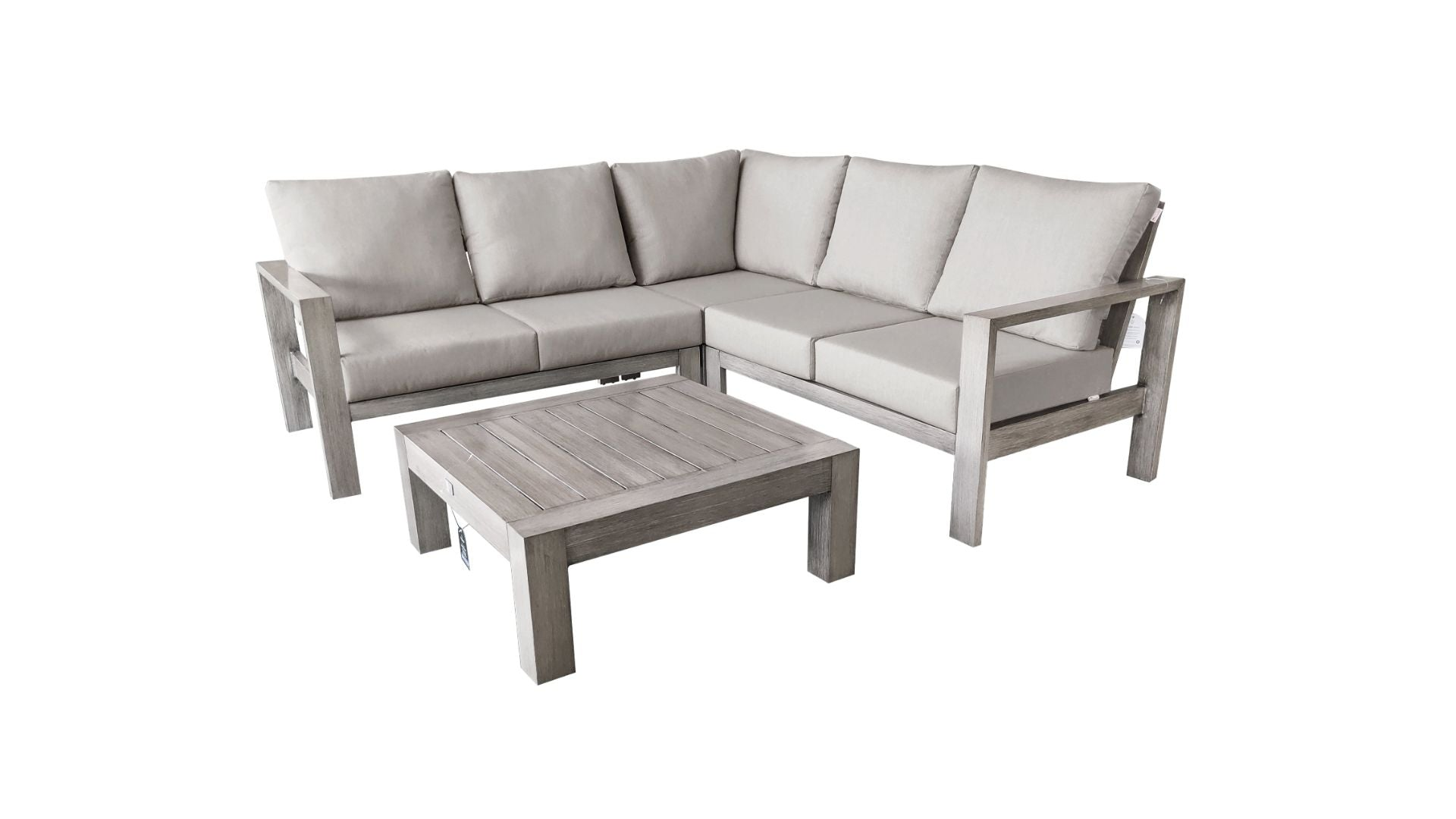 The Canyonlands - 5 Seater Sunbrella® Outdoor Sectional Sofa Set - (Eagle Series) - Cozy Corner Patios