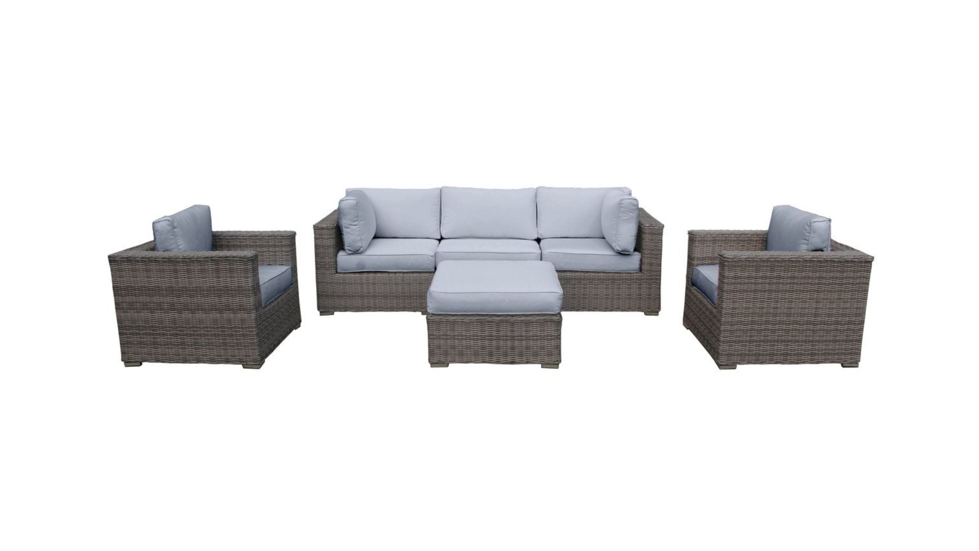 The Yosemite - 6pc Sunbrella® Outdoor Sofa Set - Cozy Corner Patios