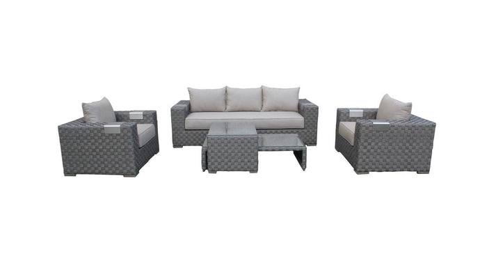 The Grand Canyon- 5pc Sunbrella® Outdoor Sofa Set - (Royale Series) - Cozy Corner Patios