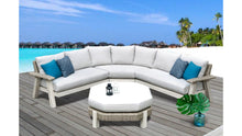 Load image into Gallery viewer, The Sand Dunes - 7 Seater Sunbrella® Outdoor Sectional Sofa Set - (Eagle Series) - Cozy Corner Patios