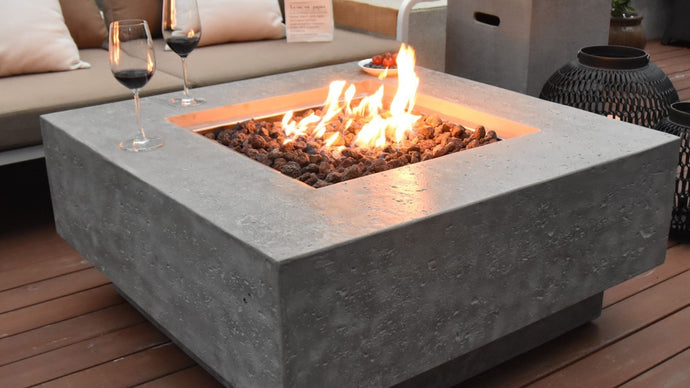 Manhattan Fire Table - Cozy Corner Patios