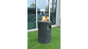 Lava Tube Fire Pit - Cozy Corner Patios