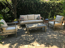 Load image into Gallery viewer, The Bryce Canyon - 5  Seater Sunbrella® Outdoor Sofa Set - (Eagle Series) - Cozy Corner Patios