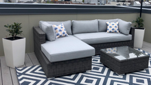 Load image into Gallery viewer, The Sequoia - 3pc Sunbrella® Outdoor Sofa Set - Cozy Corner Patios
