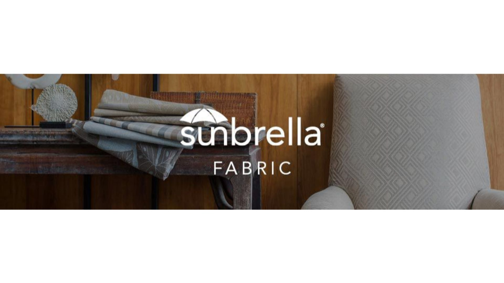 YellowStone Sunbrella® Fabric and Wicker piece (Sample) - Cozy Corner Patios
