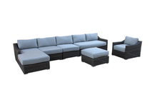 Load image into Gallery viewer, The Toledo (Right Arm) - 6pc Sunbrella® Outdoor Sofa Set