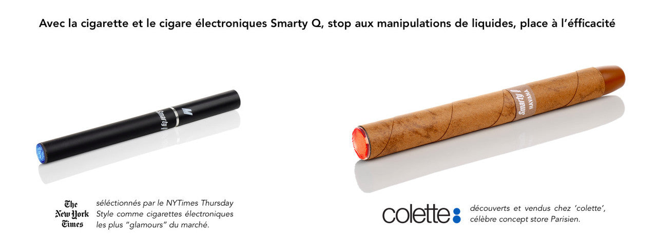 cigare électronique Smarty Q