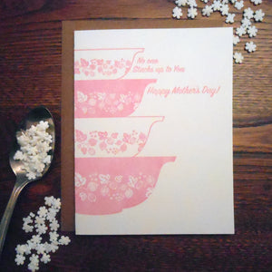 No one stacks up to You Mother's Day Card