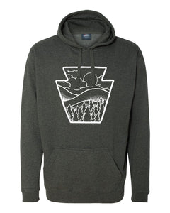 Keystone Clouds Tailgate Hoodie (2 color options)