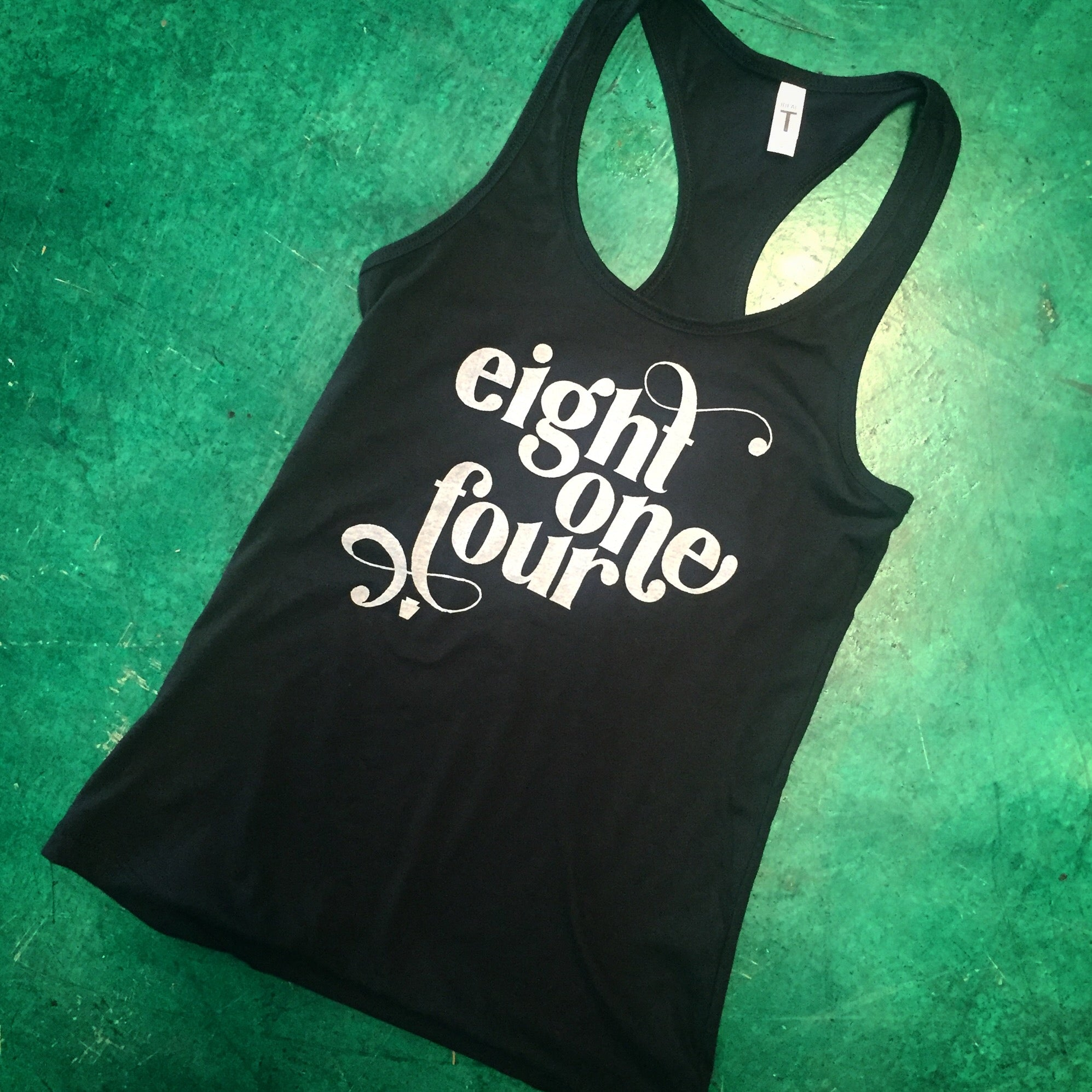 eight one four Ladies Tank Top