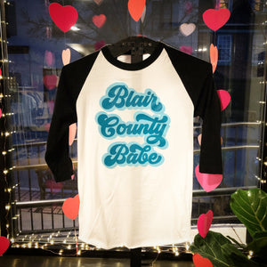 Blair County Babe Baseball T-shirt (Teal)