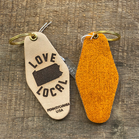Love Local Keychain