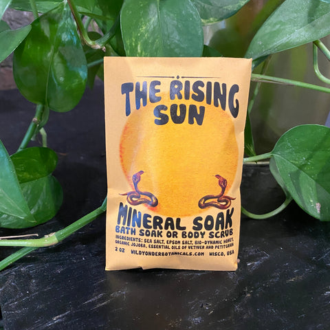 Mineral Sea Salt Soak & Scrub