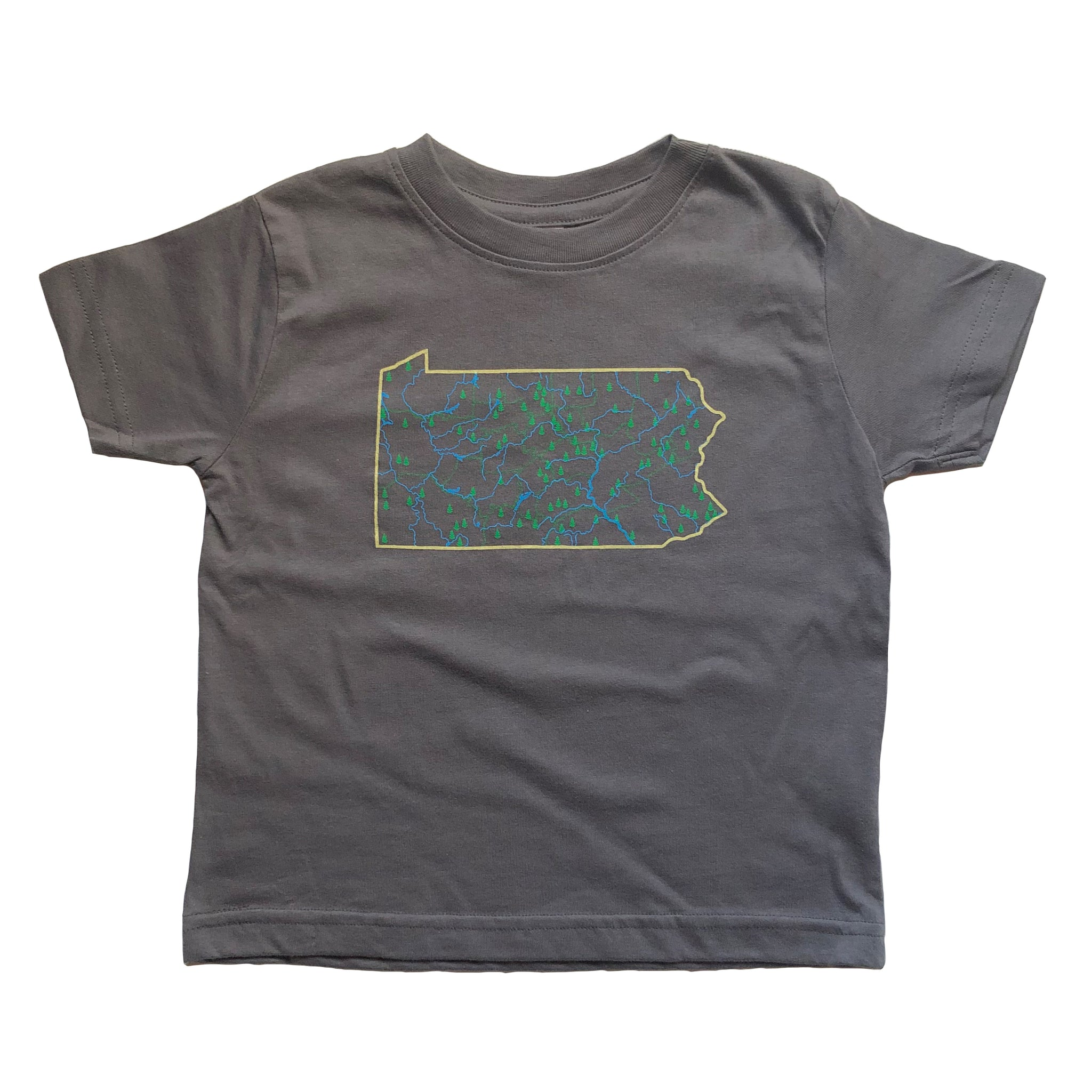 Forest Regions Pennsylvania Kids T-shirt