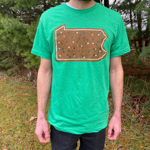 PA Christmas Cookie Holiday T-shirt
