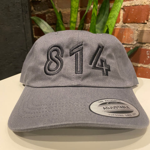 814 Embroidered Unstructured Hat (3 color options)
