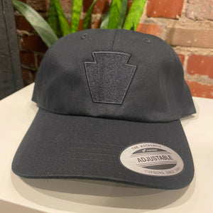 Keystone Embroidered Unstructured Hat (3 color options)