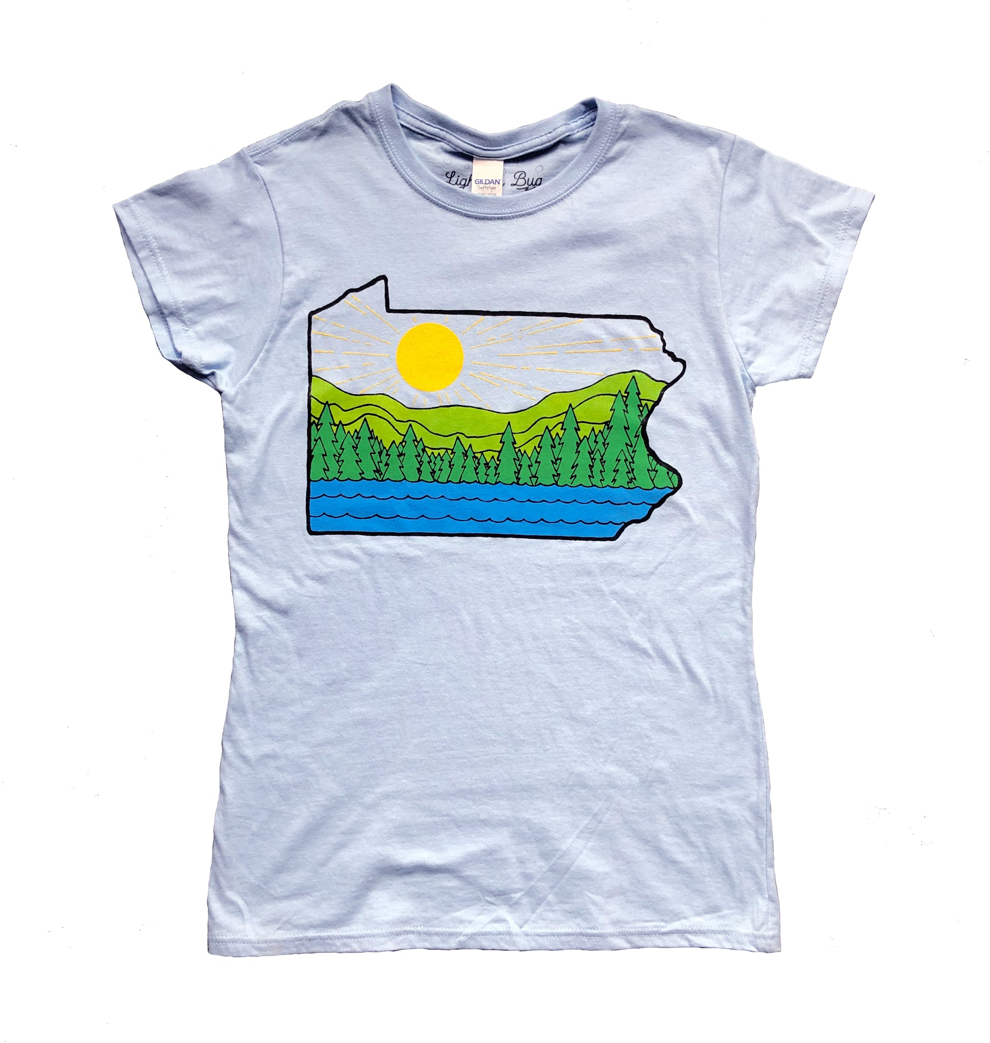 PA Sunshine Ladies T-shirt