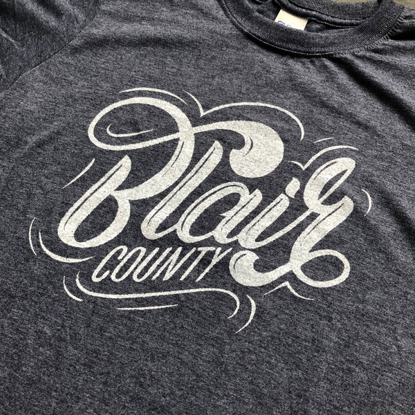 Blair County T-shirt collaboration with Justin Guerino