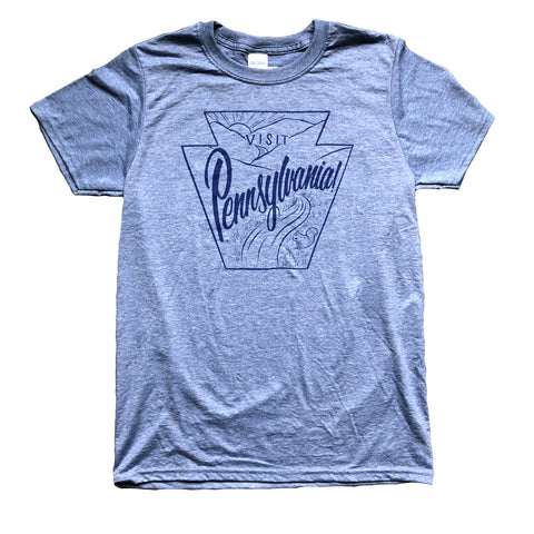 Visit Pennsylvania T-shirt collaboration with Justin Guerino