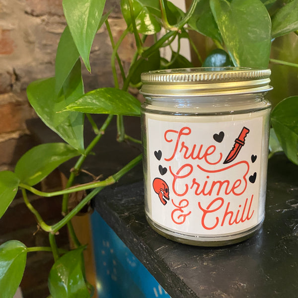 True Crime & Chill Candles