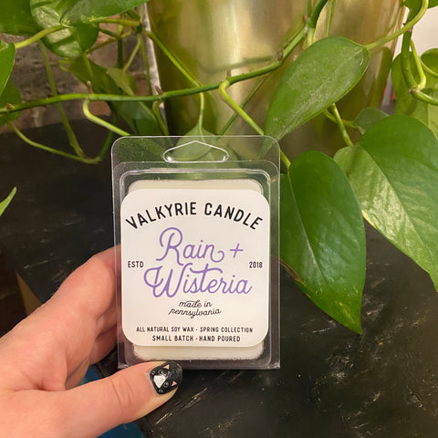 Rain + Wisteria Wax Melts