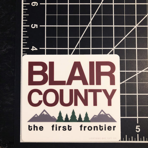 Blair County Vinyl Sticker