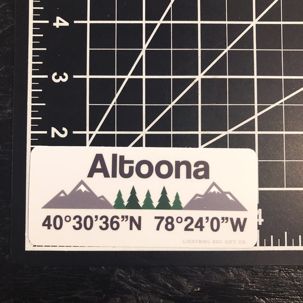 Altoona Vinyl Sticker