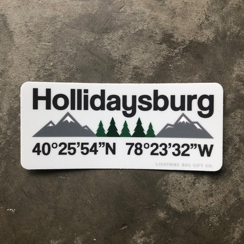 Hollidaysburg Vinyl Sticker