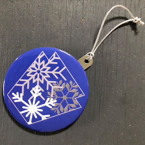 Snowflake Keystone Ornament