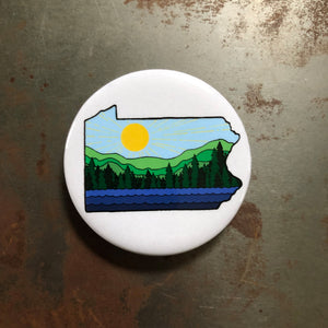 PA Sunshine Beer Bottle Opener Magnet