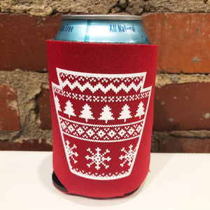 Holiday Sweater Keystone Can Coolie