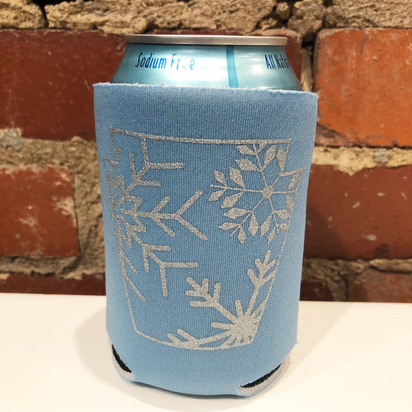Snowflake Keystone Can Coolie