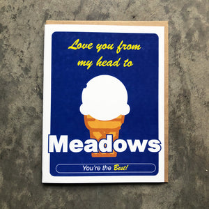 Meadows Love Card