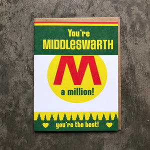 Middleswarth Love Card
