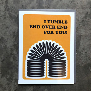 Slinky Love Card
