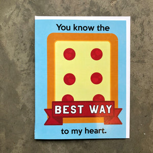 Best Way Love Card