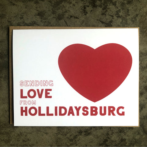 Hollidaysburg Love Card
