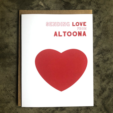 Altoona Love Card