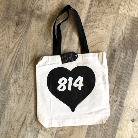814 Heart Tote Bag