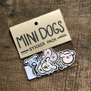 Mini Dogs Sticker Pack