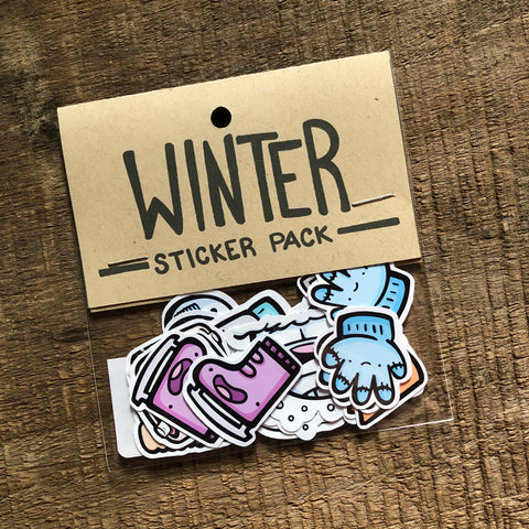 Winter Sticker Pack