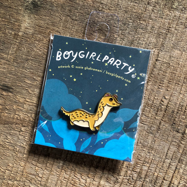 Ferret Enamel Pin