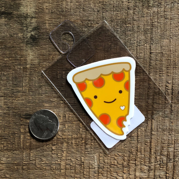Small Pizza Vinyl Sticker