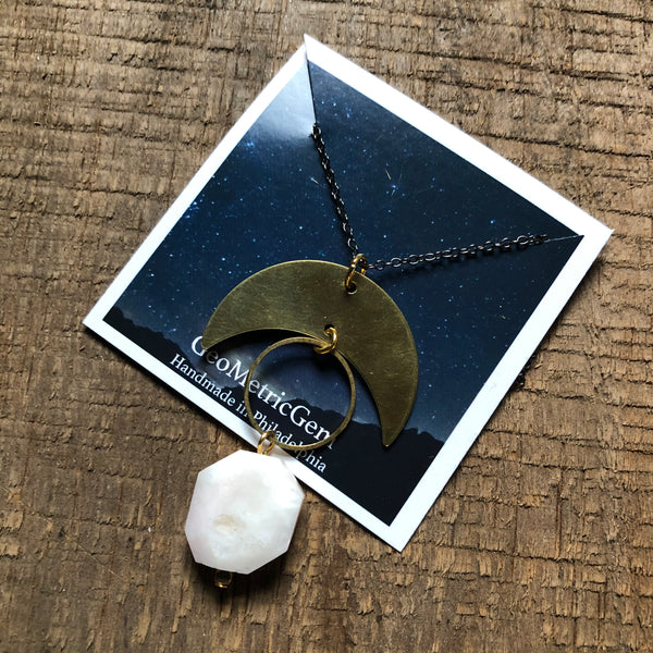 Minsi Moon Necklace