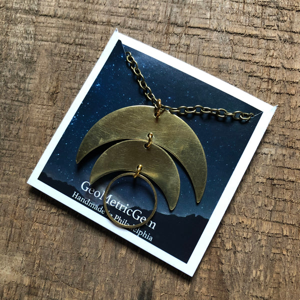Erie Moons Necklace