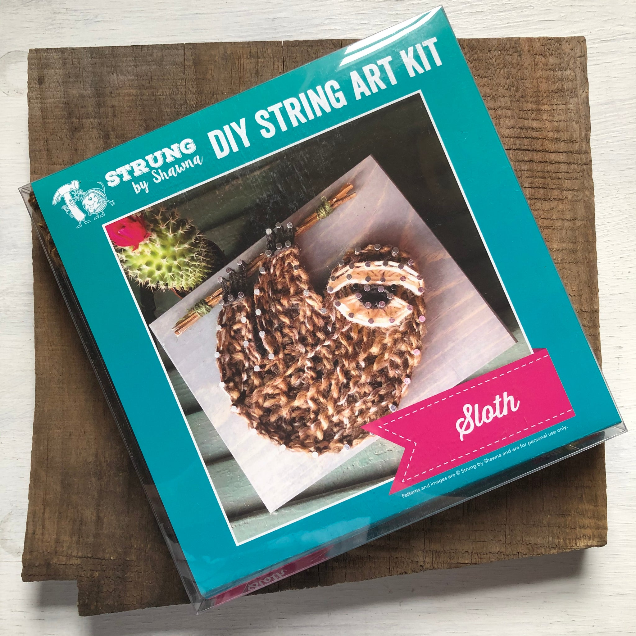 Sloth Mini String Art Kit
